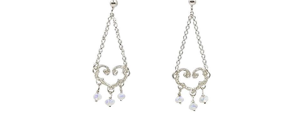 Boucles d'oreilles Perles de pluie