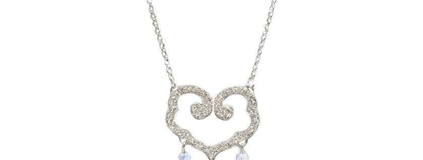 Collier Perles de pluie