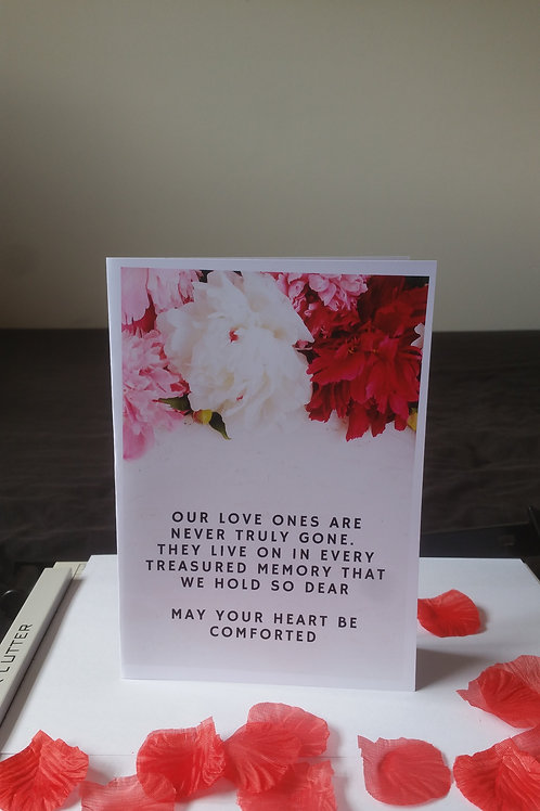 Sympathy cards, sorry for your loss cards