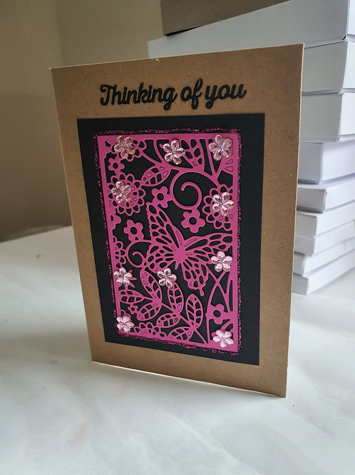 Sentiment, thinking of you card