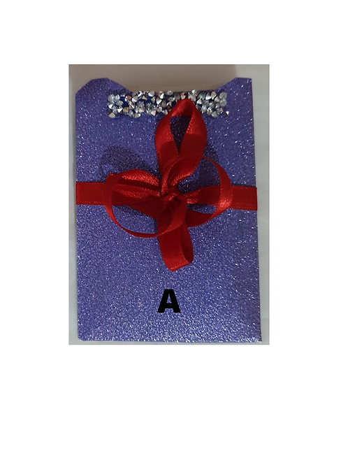 1 piece gift card holder, all occasion
