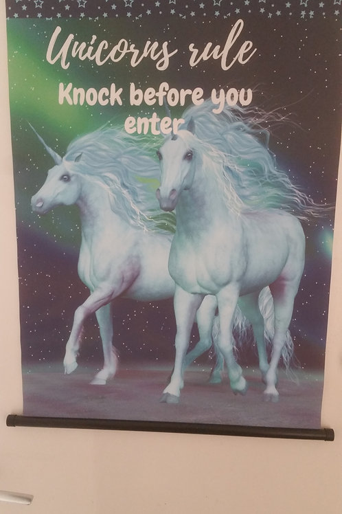 Knock before you enter
