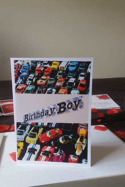 birthday card for son or daughter, card ideas