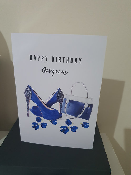Happy birthday gorgeous card for her