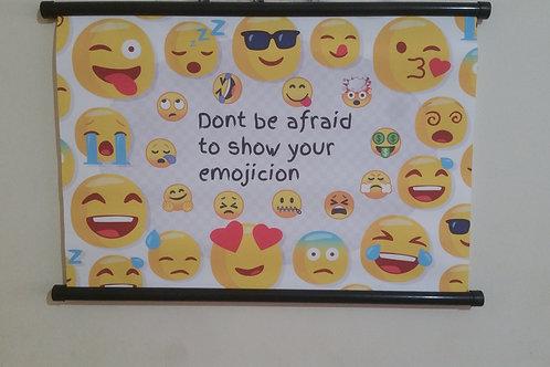 Show your emojicion poster