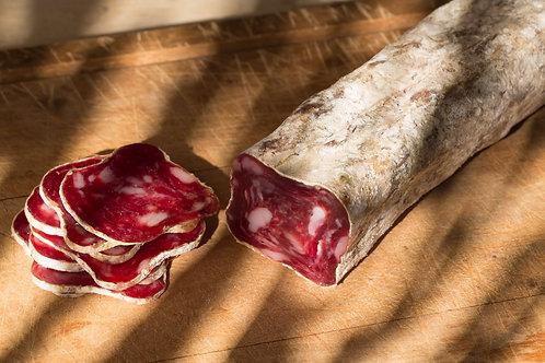 """""""Le Manadier"""" Edelsalami mit 20% Stierfleisch - Metzgerqualität aus der Provence"""