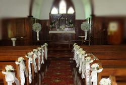 Pew Bows Church