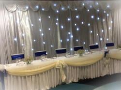 Star Curtain Wedding