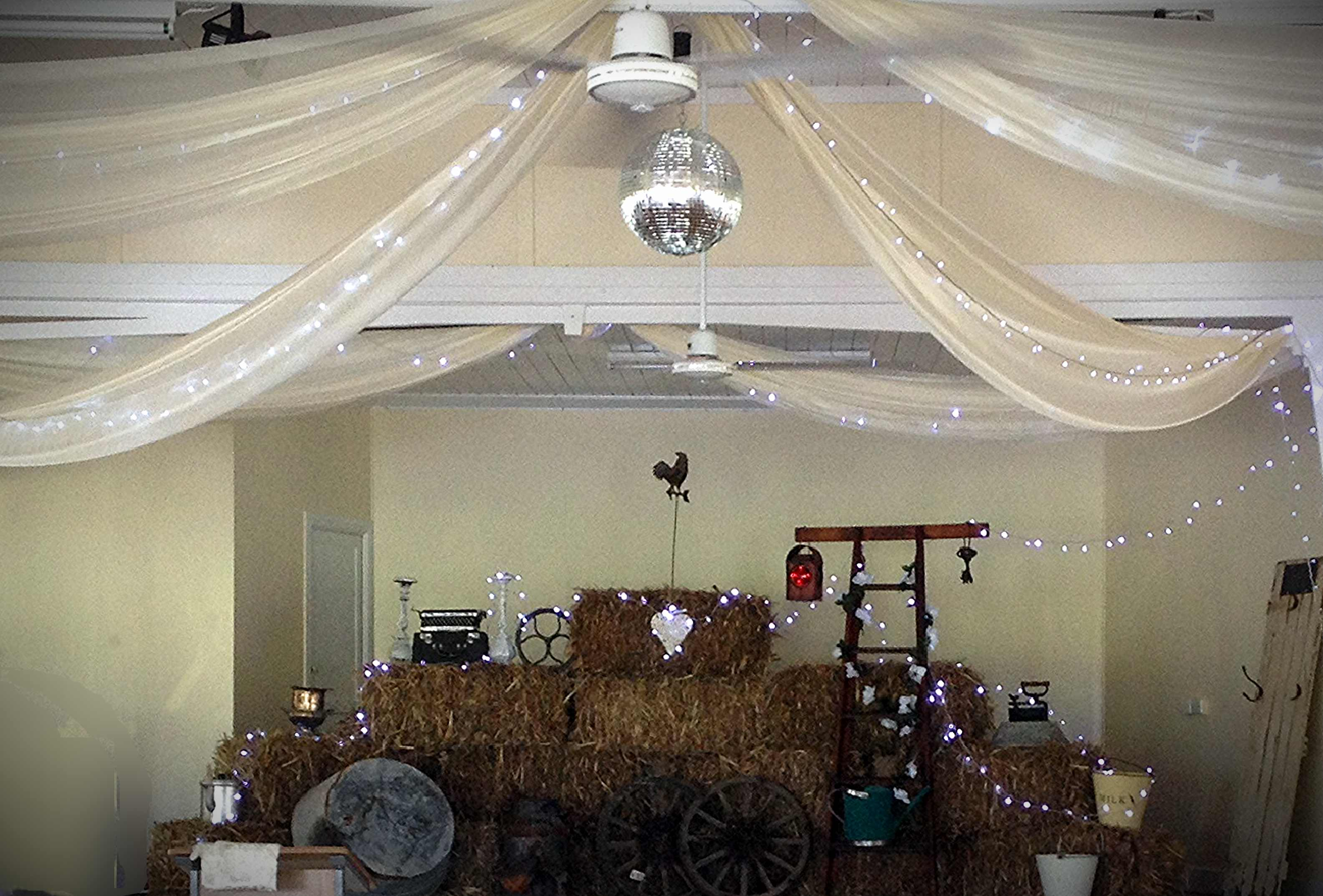 Country Theme with draping
