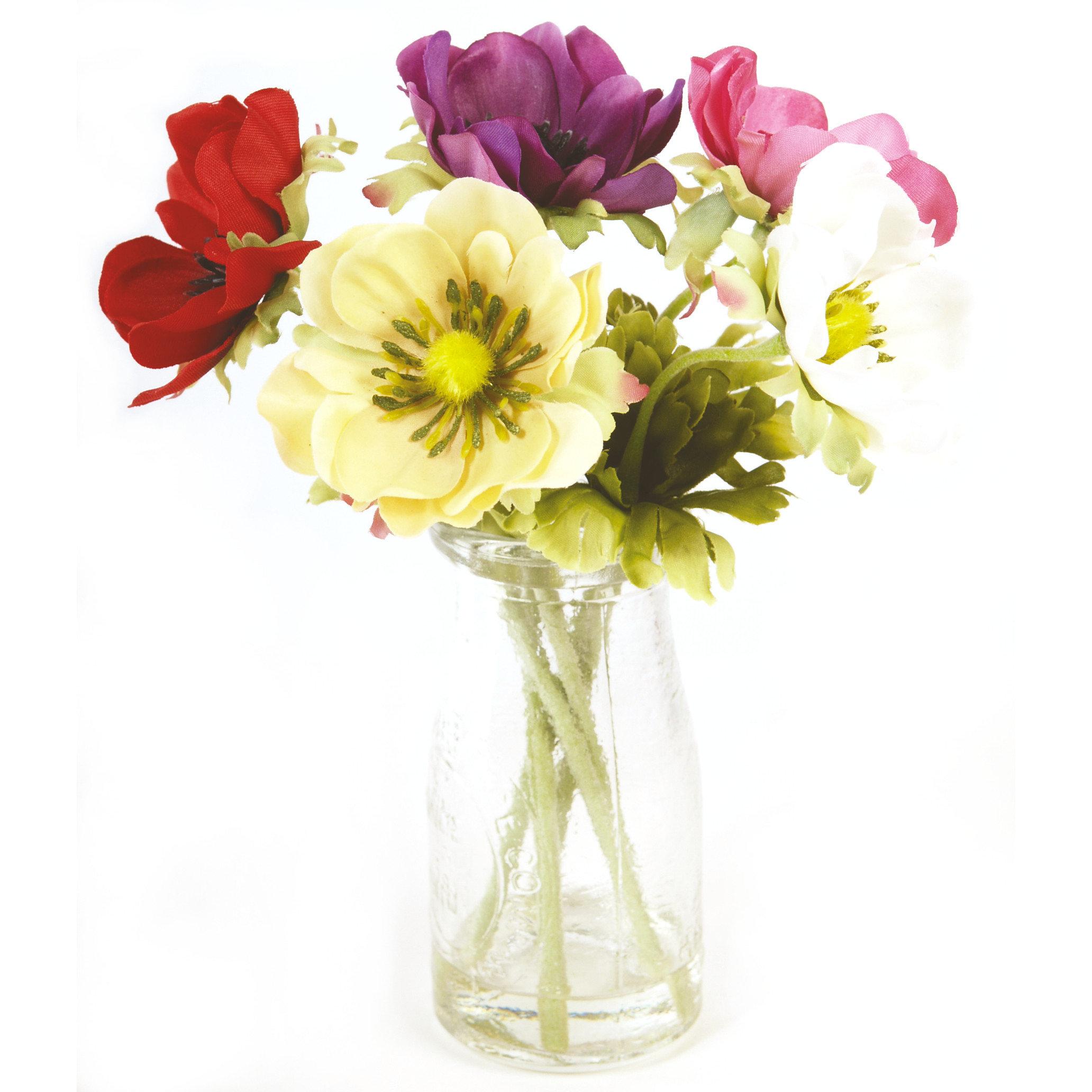 Roseum Artificial Flower Arrangements Single Stems Bouquets