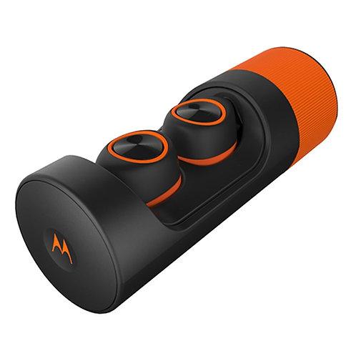 Motorola VERVEONES+ Verve ones+, Bluetooth Earbuds, Black+Orange,O