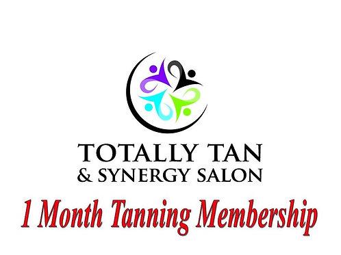 1 Month Tanning Membership