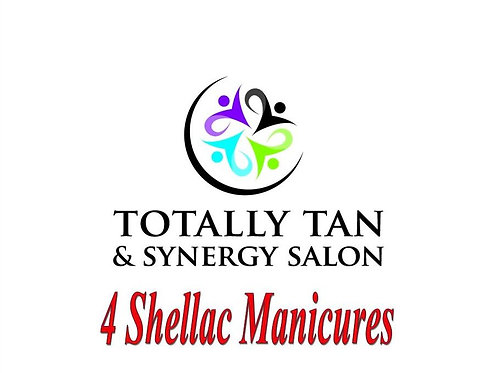 4 Shellac Manicures