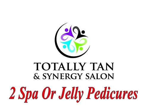 2 Spa Or Jelly Pedicures