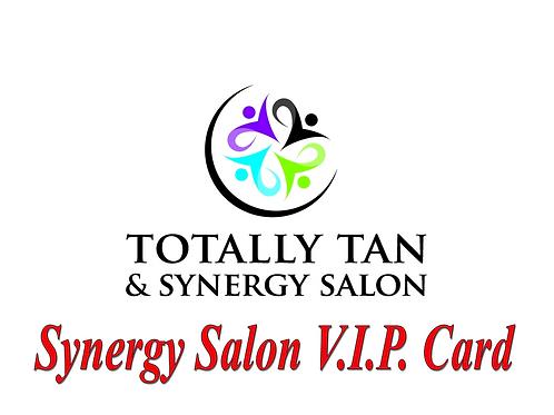 Synergy Salon VIP Card