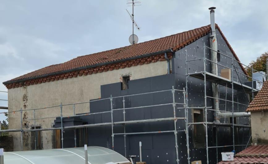Amo action logement : Isolation thermique extérieur 1€