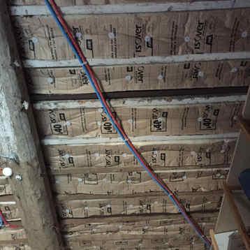 Isolation 1€  sous plancher bois