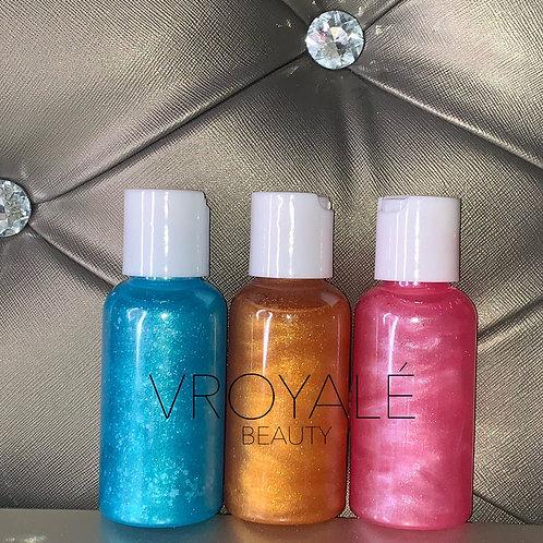 Body Shimmer Oils
