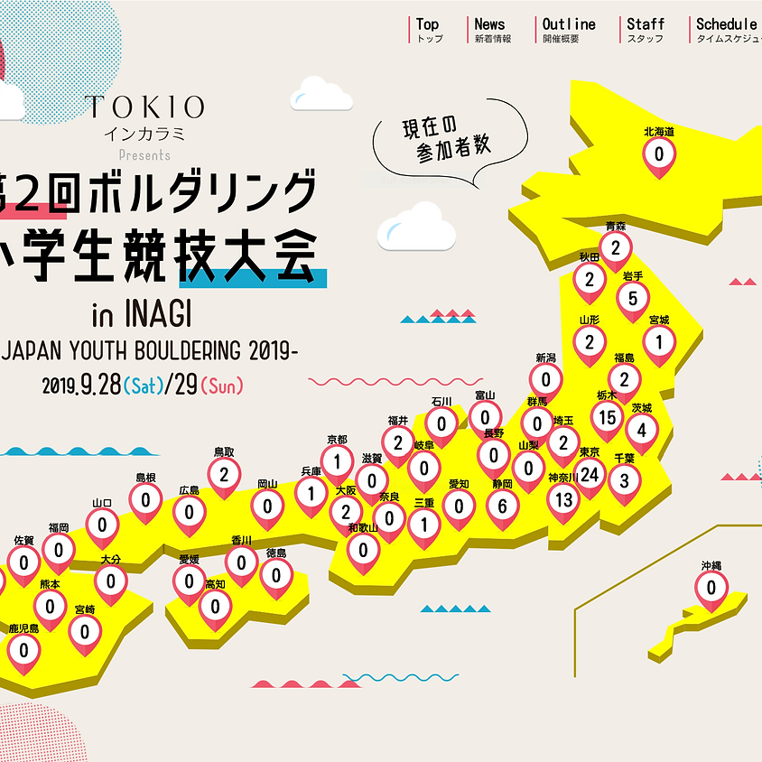 Japan Youth Bouldering Competition
