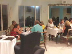 Dining at Island Cuisine Restaurant