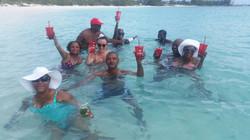 Family & friends-fun at the beach
