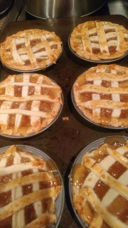 Apple pie tartlets