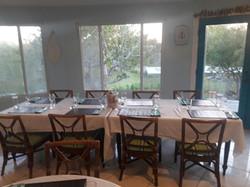 Table at Island Cuisine Restaurant