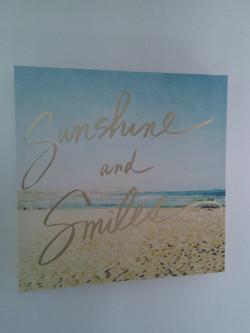 Sunshine and smiles