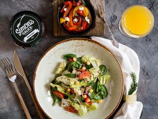 """Полезный салат с соусом """"Винегрет"""" Simon's Sauce"""