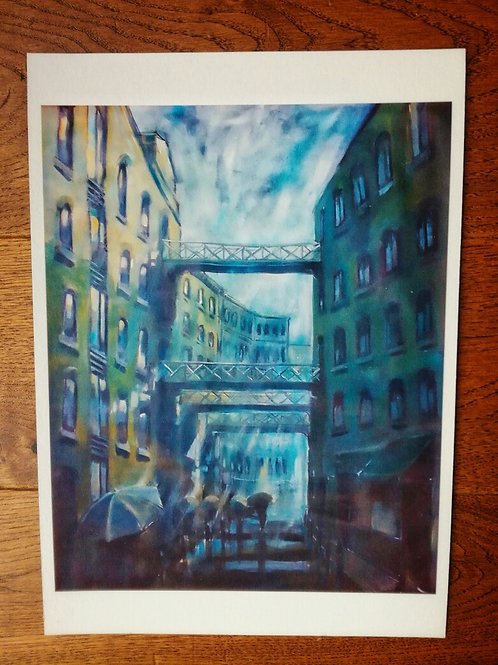 Shad Thames Print - A4 size