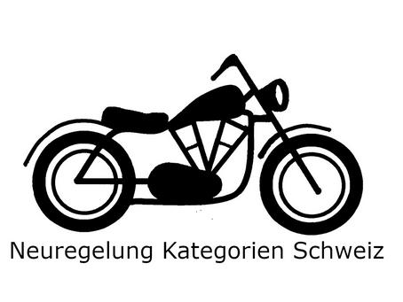 Neue Motorrad Führerschein Kategorien