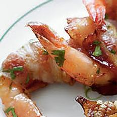 Bacon Wrapped Jalapeño Shrimp