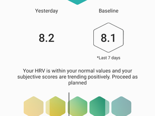 Using Heart Rate Variability (HRV) to improve training and recovery