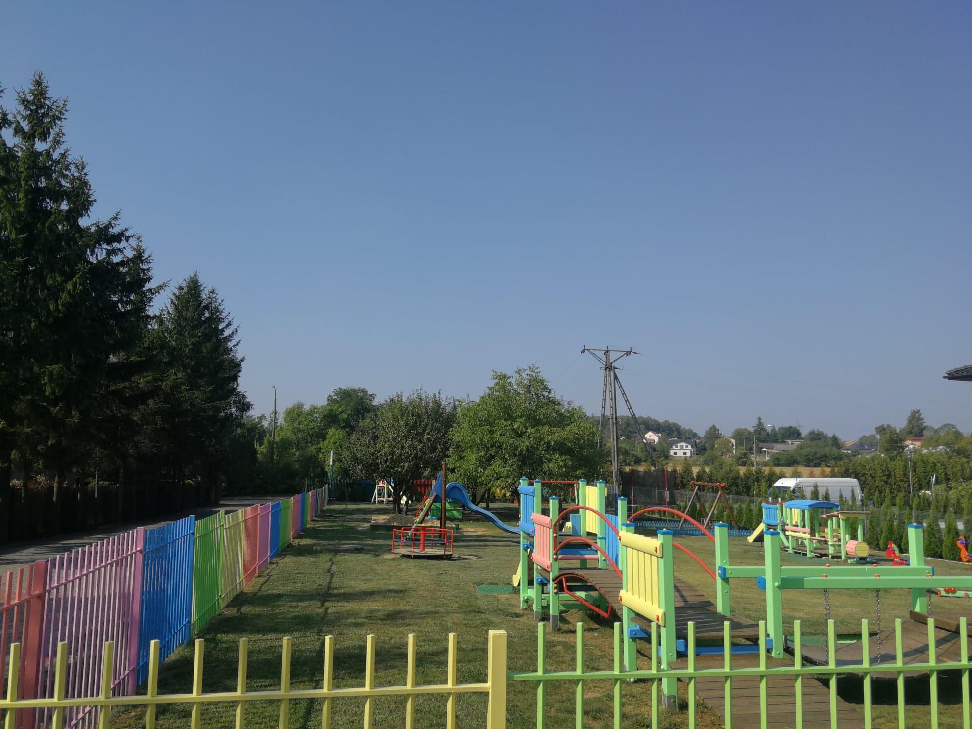 Plac zabaw Przedszkole Montessori 1