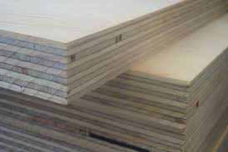 Plywood used in gym pads