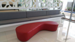 ORGANIC OTTOMAN AND BENCH SEAT