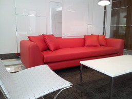 CUSTOM MADE SOFAS FOR DISPLAY HOMES