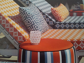 outdoor cushion cover RE-UPHOLSTERY