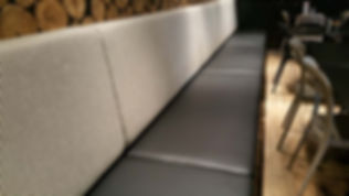 UPHOLSTERY PRICE Banquette seating