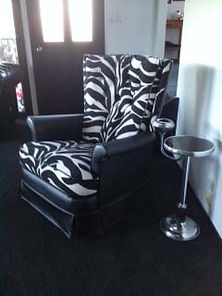 jason recliners can be recovered in any combination of fabric