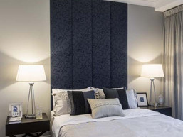 CUSTOM MADE UPHOLSTERED WALL PANELS
