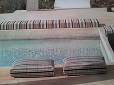 outdoor cushions recovered and outdoor foam supplied supplied