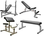 Gym equipment showing the upholstered pads First Edition can do this job for you call 07 55760766
