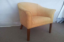 UPHOLSTERY PRICE for a Tub chair in commercial vinyl or Fabric