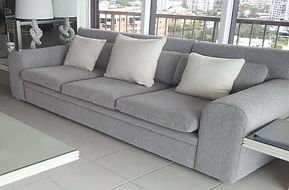 3 seater Sofa with scatters