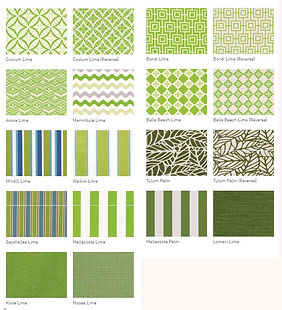 Warwick outdoor Fabrics First Edition Upholstery