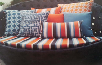 outdoor cushion RE-UPHOLSTERY
