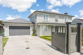 New home built by Gibson Building, Auckland builders