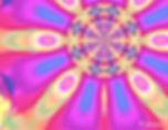 Rose of cosmic holy dance spirit