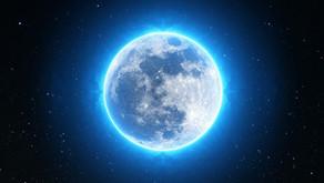 Volle maan 27 februari:                    'Genezing van jouw pijn en angst'